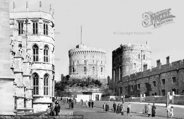 Photo of Windsor, Castle c.1955