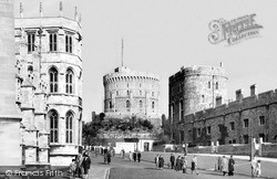 Windsor, Castle c.1955