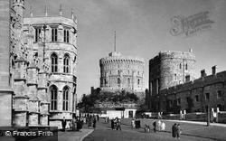 Windsor, Castle c.1955