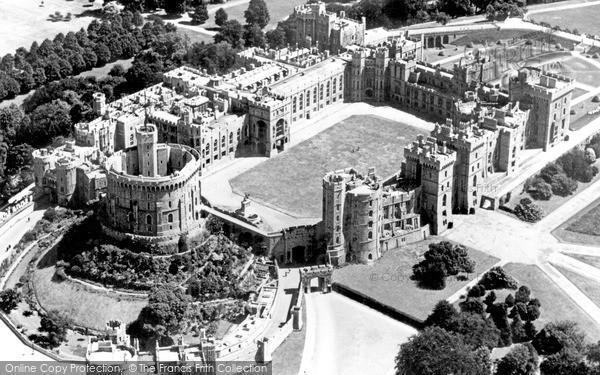 Windsor, Castle c.1960