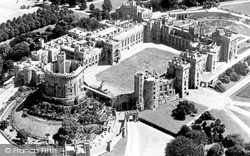 Windsor, Castle c.1960