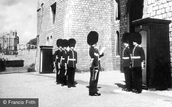 Windsor, Castle, Changing of the Guard c1960