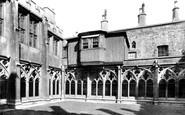 Windsor, Castle, Cloister Court And Tudor Balcony 1895