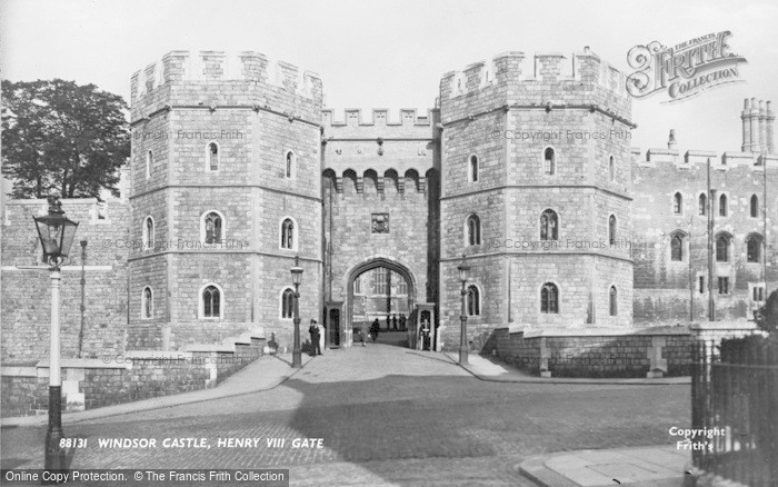 Photo of Windsor, Castle, Henry VIII Gate 1937