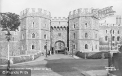 Windsor, Castle, Henry Viii Gate 1937