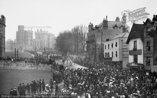 Photo of Windsor, Castle Hill 1906