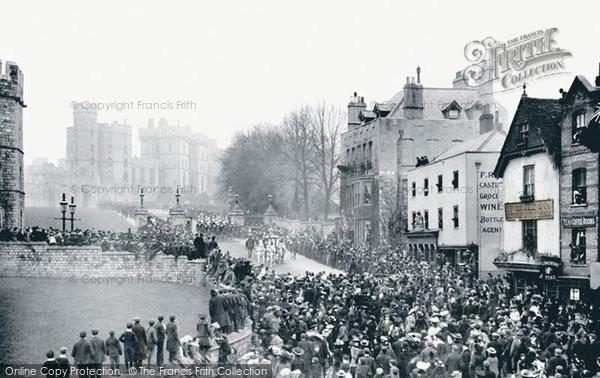 Photo of Windsor, Castle Hill 1906