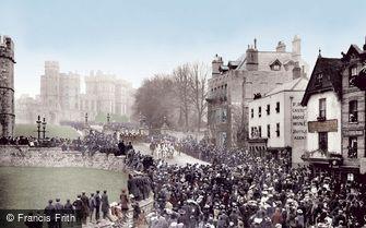 Windsor, Castle Hill 1906