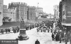 Windsor, Castle Hill 1914