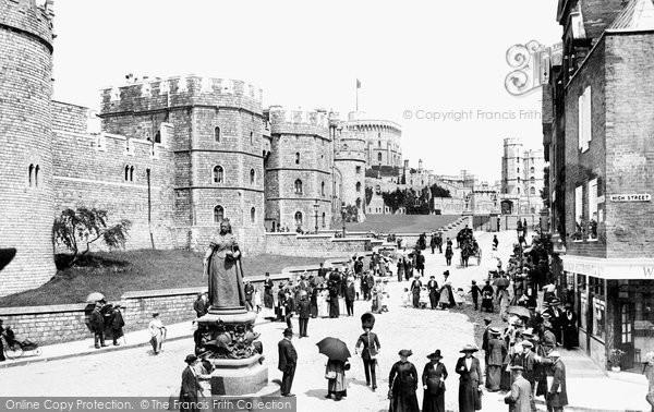 Photo of Windsor, Castle Hill 1914