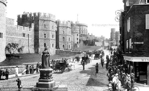 Photo of Windsor, Castle Hill 1914