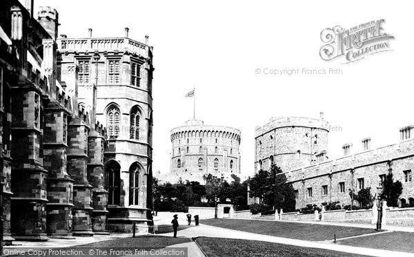 Photo of Windsor, Castle, Lower Ward 1895
