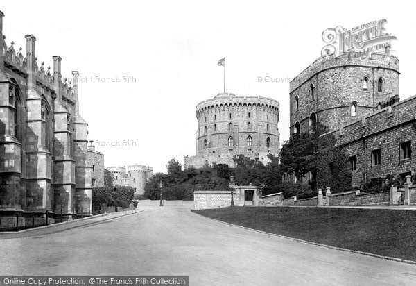 Photo of Windsor, Castle, Round Tower 1895