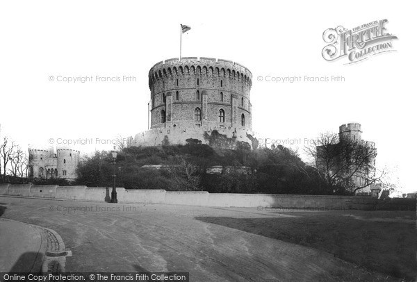 Photo of Windsor, Castle, Round Tower c.1890