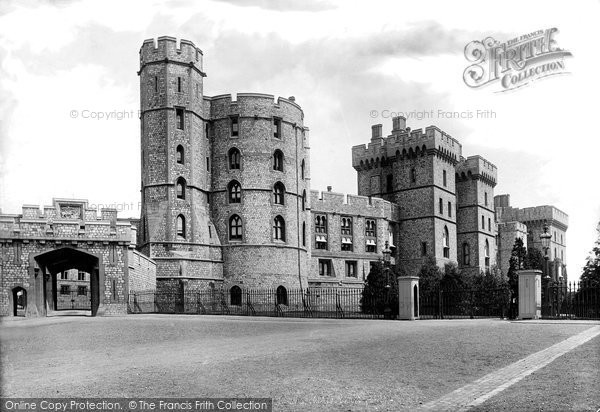 Photo of Windsor, Castle, South Front 1895