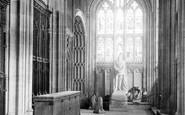 Windsor, Castle, St George's Chapel, Statue Of Emperor Friedrich 1895