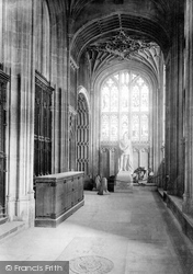 Windsor, Castle, St George's Chapel, Statue Of Emperor Friedrich 1895