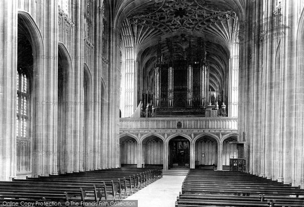Photo of Windsor, Castle, St George's Chapel, The Nave 1895