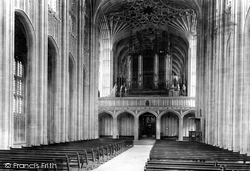 Windsor, Castle, St George's Chapel, The Nave 1895