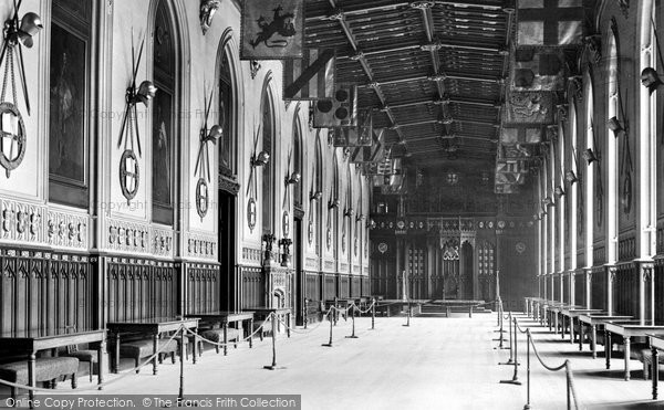 Photo of Windsor, Castle, St George's Hall 1895