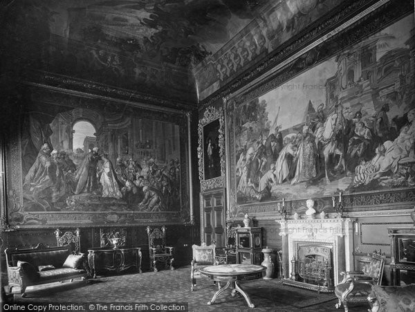 Photo of Windsor, Castle, The Audience Chamber 1923