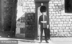 Windsor, Castle, The Coldstream Guard c.1960