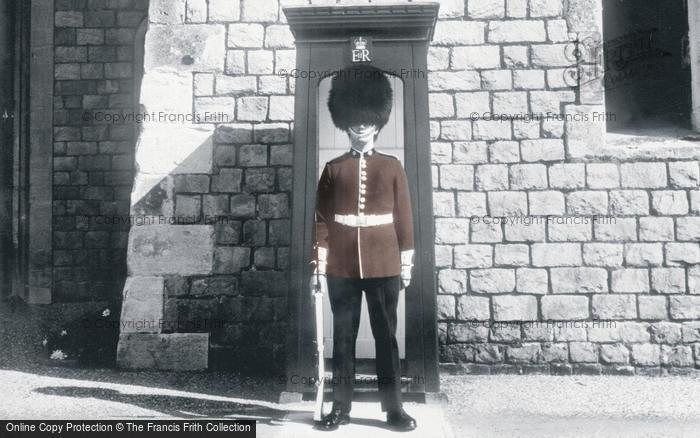 Photo of Windsor, Castle, The Coldstream Guard c.1960