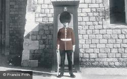 Windsor, Castle, The Coldstream Guard c.1960