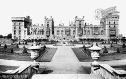 Windsor, Castle, The East Terrace 1914