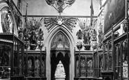 Windsor, Castle, The Grand Vestibule 1923