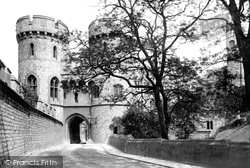 Windsor, Castle, The Norman Gate 1895