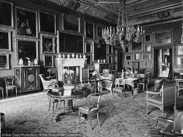 Photo of Windsor, Castle, The Picture Gallery 1923