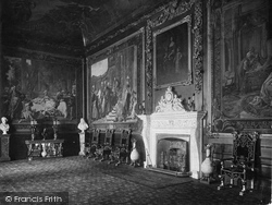 Windsor, Castle, The Presence Chamber 1923