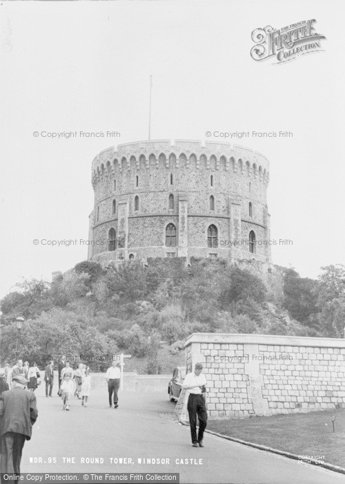 Photo of Windsor, Castle, The Round Tower c.1965