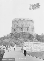 Windsor, Castle, The Round Tower c.1965