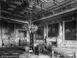 Windsor, Castle, The Rubens Room 1923