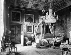 Windsor, Castle, The State Bedroom 1923