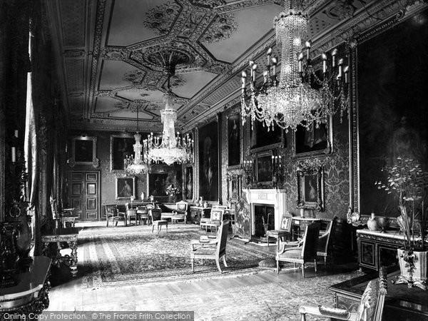 Photo of Windsor, Castle, The Vandyke Room 1923