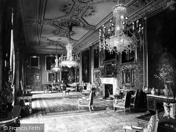 Windsor, Castle, The Vandyke Room 1923