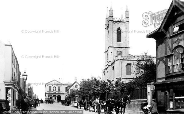 Photo of Windsor, Church Of St John The Baptist 1895