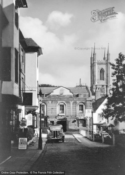 Photo of Windsor, Church Street c.1946