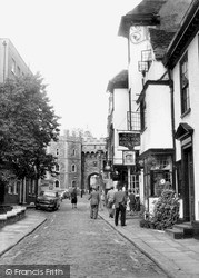 Windsor, Church Street c.1960
