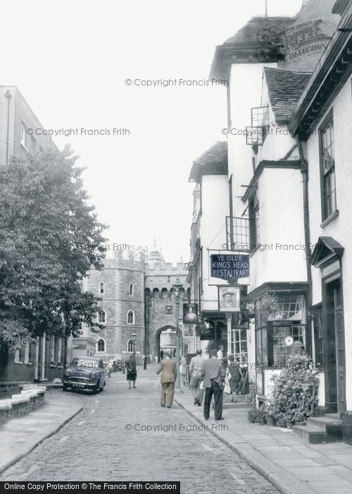 Photo of Windsor, Church Street c1960