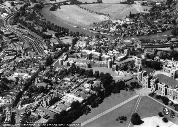 Photo of Windsor, from the Air 1964