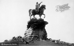 Windsor, Great Park, Copper Horse 1895