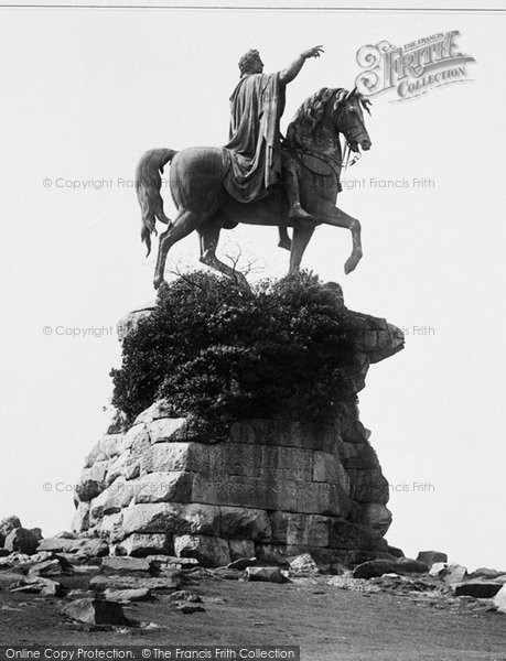Photo of Windsor, Great Park, Copper Horse 1895