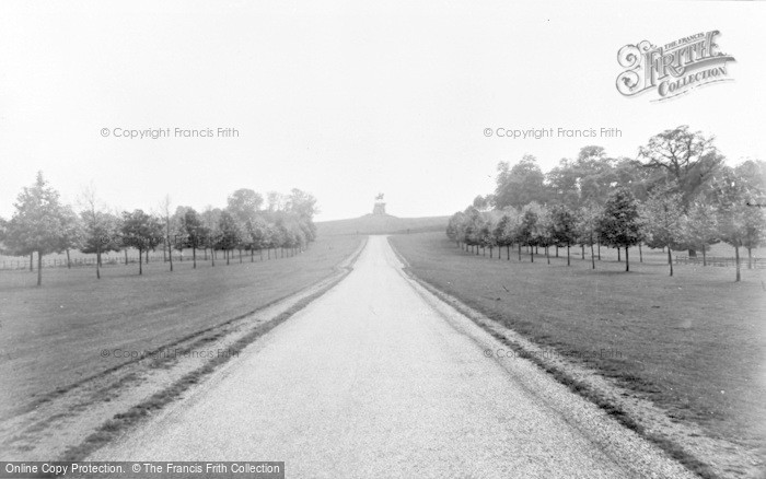 Photo of Windsor, Great Park, Long Walk And Copper Horse c.1960