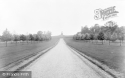 Windsor, Great Park, Long Walk And Copper Horse c.1960