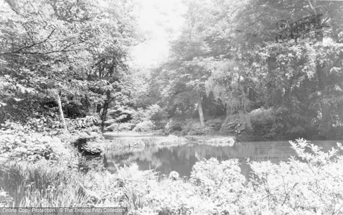 Photo of Windsor, Great Park, Savill Gardens c.1960