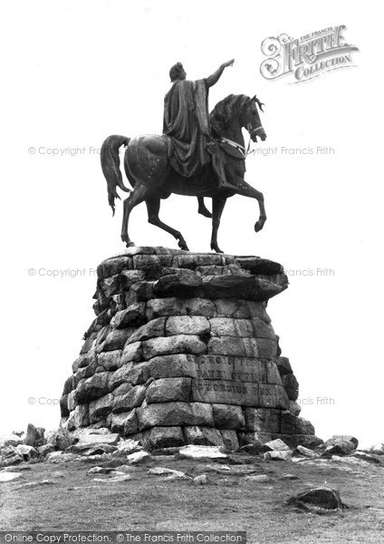 Photo of Windsor, Great Park, The Copper Horse c.1960